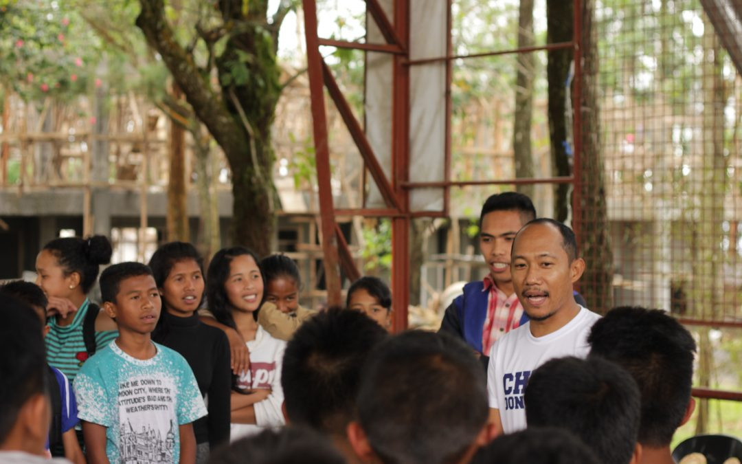 AdDU Football Team conducts Sports Clinic in Miarayon, Bukidnon